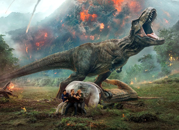 Box Office: Jurassic World - Fallen Kingdom scores approx. Rs. 38 crore in its extended weekend