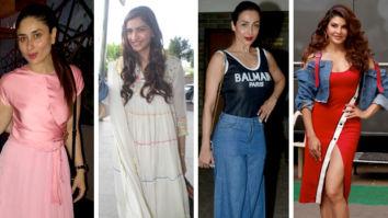 Celebrity Splurges - Kareena, Sonam, Malaika and Jacqueline