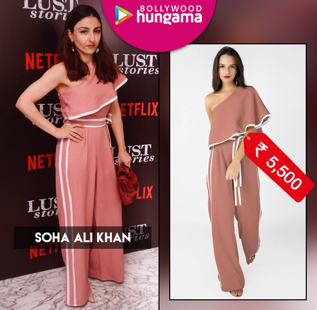 Celebrity Splurges - Soha Ali Khan