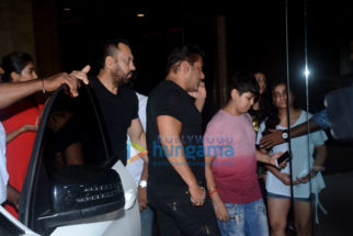 Celebs grace the Race 3 after party