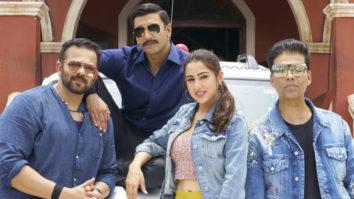 Check out this sneak peek of Ranveer Singh & Sara Ali Khan in Rohit Shetty's Simmba