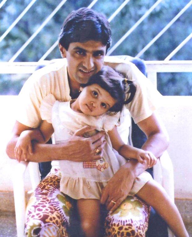 Deepika Padukone shares an adorable childhood photograph on her day Prakash Padukone's birthday