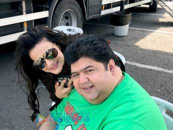 On The Sets Of The Movie Desi Magic