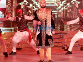 Dia Mirza, Urvashi Rautela and Nagma grace Nawab of Kurnool Adnan Ul Mulk & Nida Farooqui's 'Mehendi Musical Night'