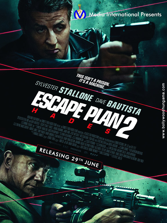 First Look Of Escape Plan 2 Hades (English)