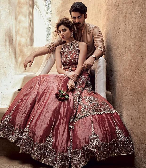 Fawad Khan and Mahira Khan for Brides Today photoshoot (3)