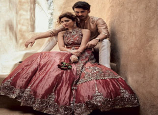 Fawad Khan and Mahira Khan for Sadaf Fawad Khan in Brides Today