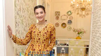 Gauahar Khan snapped celebrating Eid at her residence