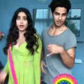 Ishaan Khatter & Janhvi Kapoor's BTS chemistry before Dhadak song launch personifies fairy tale ROMANCE