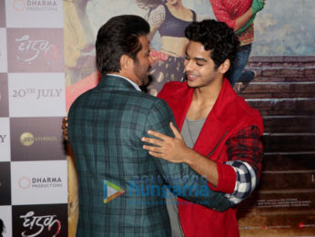 Janhvi Kapoor, Ishaan Khatter, Anil Kapoor and others grace the trailer launch of 'Dhadak'