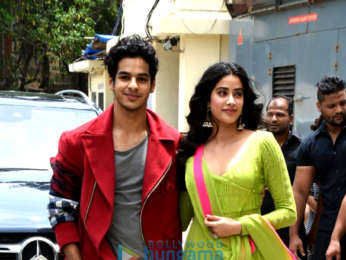 Janhvi Kapoor, Ishaan Khatter and others arrive for the trailer launch of 'Dhadak'