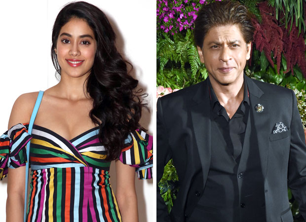 Janhvi Kapoor made her screen debut with Shah Rukh Khan before Ishaan Khatter in Dhadak! (watch video)