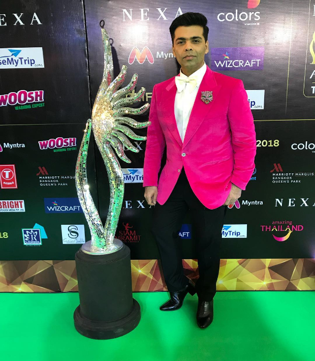 Karan Johar at IIFA Rocks 2018