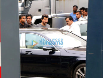 Madhuri Dixit, Ajay Devgn and Anil Kapoor snapped on the location of 'Total Dhamaal'