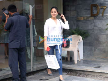Mira Rajput spotted at a store