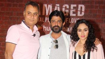 "Neeraj Roy ""Damaged is a story about a female serial killer &…"" Amruta Khanvilkar Amit Sial"