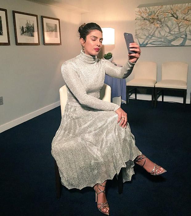 Priyanka Chopra is on fleek in metallic