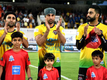 Ranbir Kapoor, Abhishek Bachchan, Ishaan Khatter and others snapped at football match in Pune