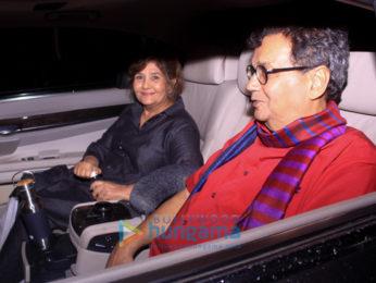 Ranbir Kapoor, Alia Bhatt, Sanjay Dutt, Aamir Khan and others snapped attending the special screening of 'Sanju'