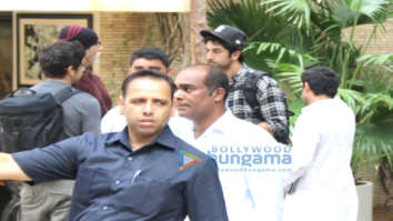 Ranbir Kapoor and Alia Bhatt spotted at Amitabh Bachchan's house in Juhu