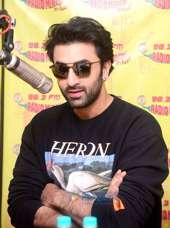 Ranbir Kapoor promotes 'Sanju' on 98.3 FM Radio Mirchi