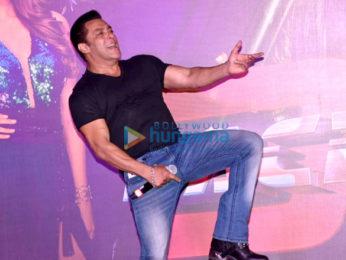 Salman Khan, Jacqueline Fernandez, Saquib Saleem, Daisy Shah and others grace the launch of the track 'Allah Duhai Hai' from Race 3