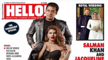 Salman Khan and Jacqueline Fernandez recreate their SIZZLING Race 3 chemistry on Hello! cover