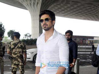 Saqib Saleem snapped at the airport