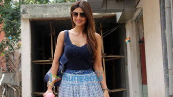 Shilpa Shetty spotted at a clinic