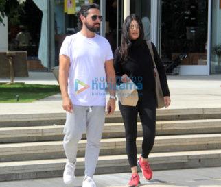 Shruti Haasan snapped with boyfriend Michael Corsale
