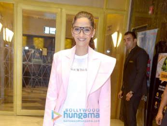 Sonam Kapoor snapped in Delhi for 'Veere Di Wedding' screening