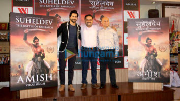 Varun Dhawan launches Amish Tripathi's book Suheldev & The Battle Of Bahraic
