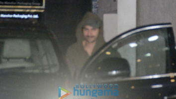 Varun Dhawan snapped post gym session