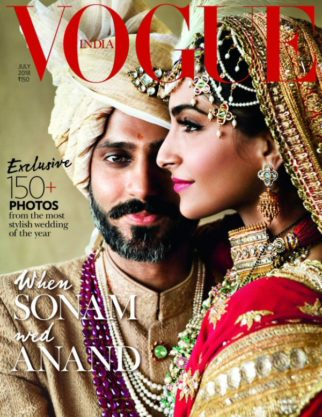 Sonam Kapoor Ahuja On The Cover Of Vogue