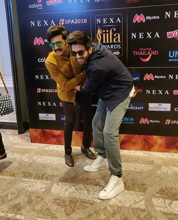 Kartik Aaryan at IIFA 2018 press con