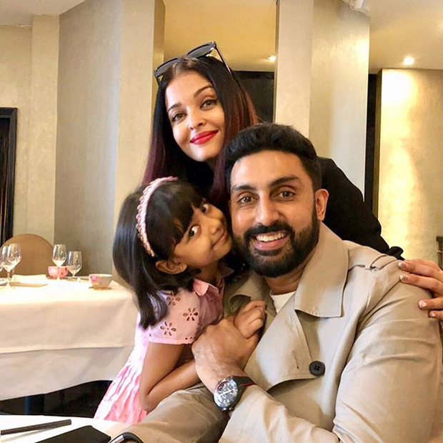 Abhishek Bachchan and Aishwarya Rai Bachchan reunite in London to spend some quality time with Aaradhya
