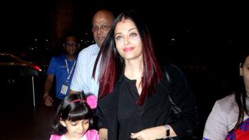 Aishwarya Rai Bachchan and Jackky Bhagnani snapped at the airport