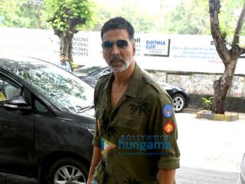 Akshay Kumar snapped at PVR, Juhu