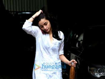 Alia Bhatt and Varun Dhawan snapped post dance practice