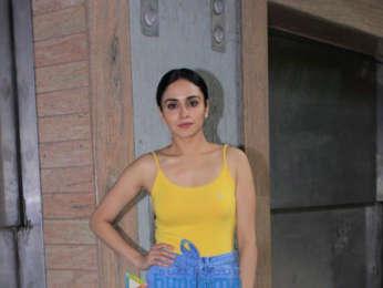 Amruta Khanvilkar spotted at Bombay Cocktail Bar