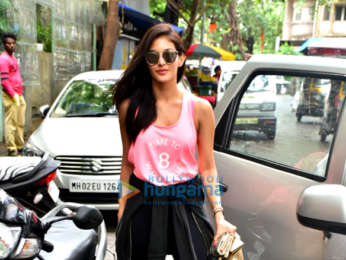 Amyra Dastur spotted at a cafe in Bandra