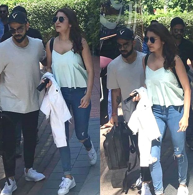 Anushka Sharma and Virat Kohli celebrate MS Dhoni's birthday in Cardiff