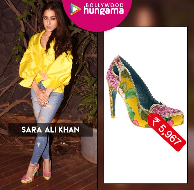 Celebrity Splurges - Sara Ali Khan