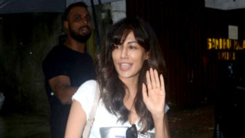 Chitrangda Singh snapped at a salon at Pali Hill