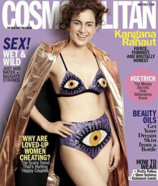 Kangna Ranaut On The Cover Of Cosmopolitan, July 2018