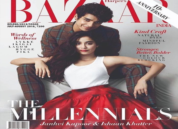 Cover Stars Janhvi and Ishaan