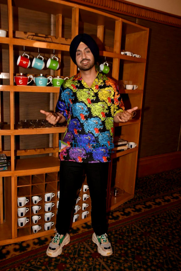 Diljit Dosanjh snapped during Soorma promotions
