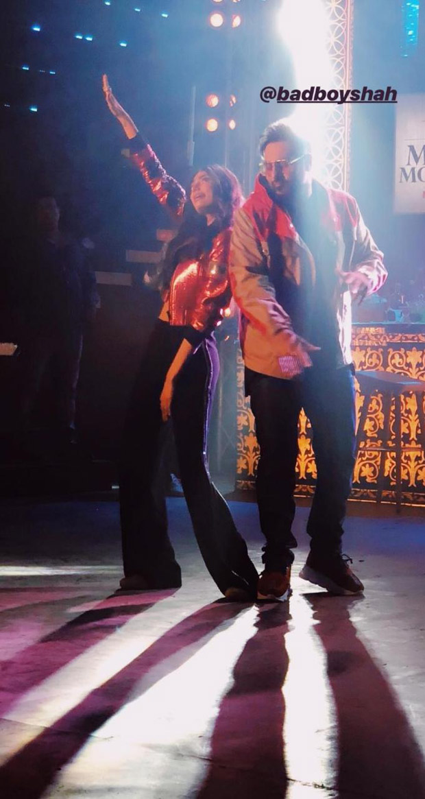 FIRST LOOK: Athiya Shetty shoots a special number with Badshah for Nawabazaade
