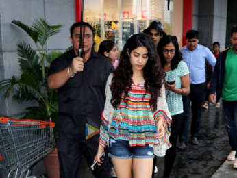 Ishaan Khatter and Janhvi Kapoor promote Dhadak at Big FM radio station
