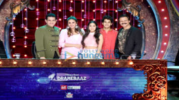 Ishaan Khatter and Janhvi Kapoor promote their film Dhadak on set of India's Best Dramebaaz